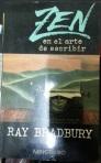 Zen en el arte de escribir de Ray Bradbury tapa